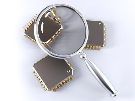 miniaturization: microchip quality check