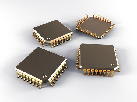 data processors: it is a lot of micro chips