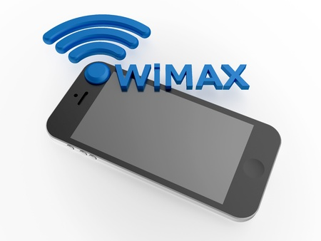 processing speed: Sign WiMAX standard with smartphone