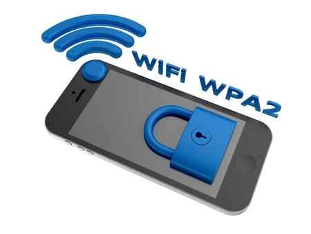 equivalent: WiFi WPA2 - security algorithm