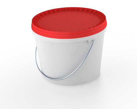 plastic bucket pacage photo
