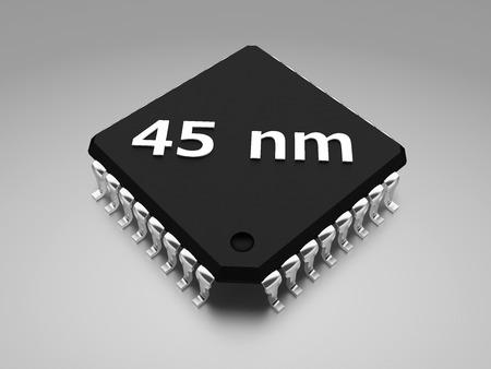 45 nm Halbleiterherstellungsverfahren