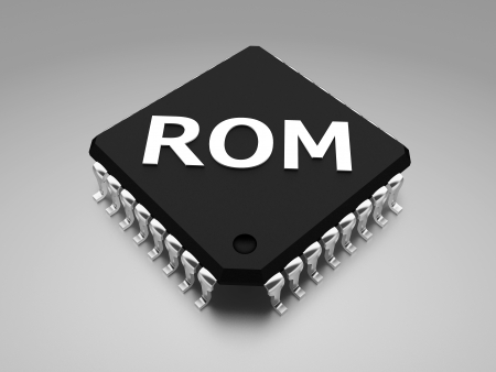 ROM  Read-only memory  chip photo