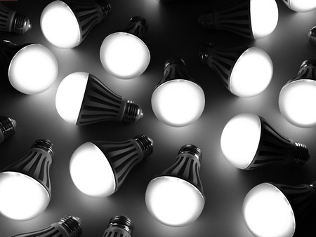 it is a lot of led lamps photo
