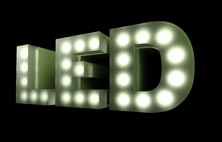 LED technology sign 版權商用圖片