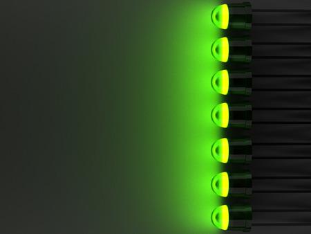 LED  Light emitting diode  background