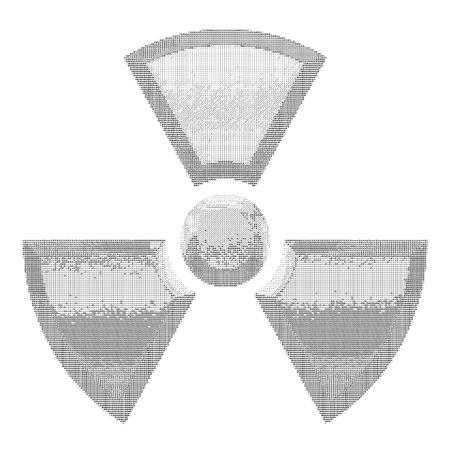 radioisotope: type art radioactive Illustration