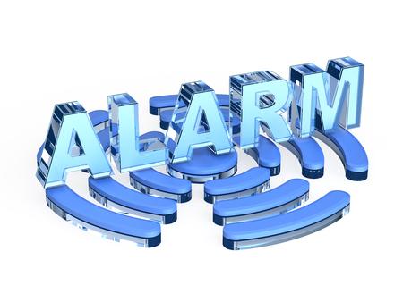 pictogramme: alarm signal Stock Photo