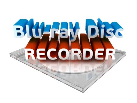 grabadora: grabadora de bluray