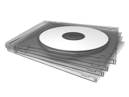 Compact disc or CD DVD BD with slim box