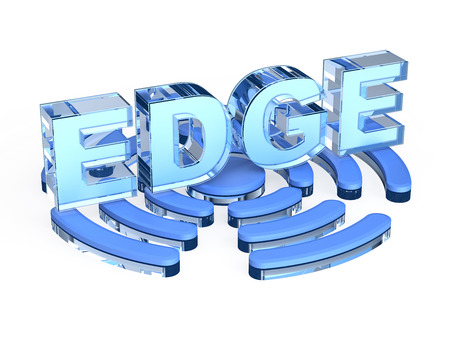 enhanced: EDGE Enhanced Data rates for GSM Evolution Stock Photo