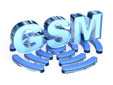 gsm: GSM Global System for Mobile Communications Stock Photo