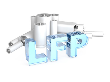 amperage: LFP LiFePO4 Lithium iron phosphate accumulator battery