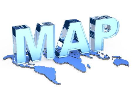 gi: world map sign