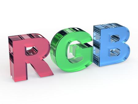 rgb: RGB color scheme sign