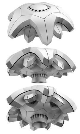 ufology: UFO (oggetto volante non identificato) set