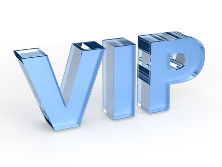 privileges: VIP (Very Important Person) sign