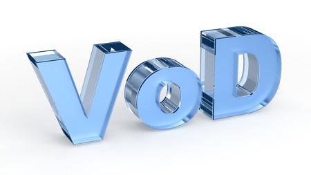 in demand: VOD (Video on Demand)
