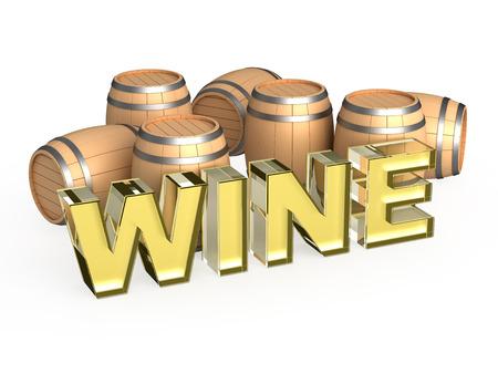 fermenting: White wine cask