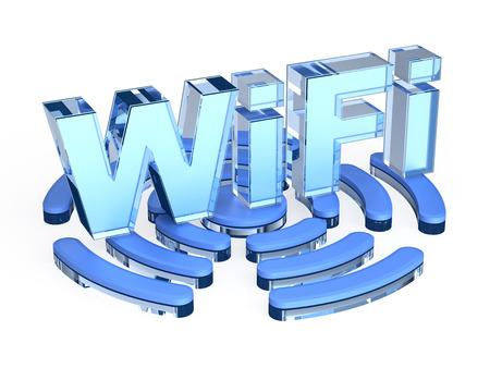 wireless hot spot: WiFi signal