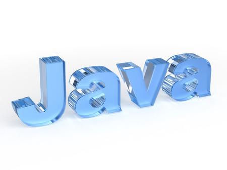 js: Java - computer programming language Stock Photo