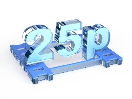 progressive: 25p - 25 progressive frames per second