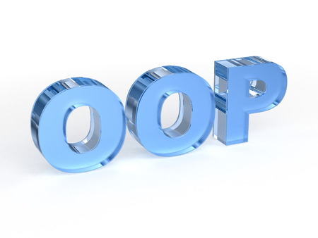polymorphism: OOP - Object-oriented programming Stock Photo