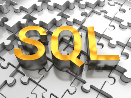 structured: SQL - Structured Query Language Stock Photo