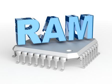 mb: RAM Random-access memory chip
