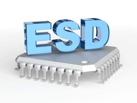 discharge: ESD - Electrostatic discharge