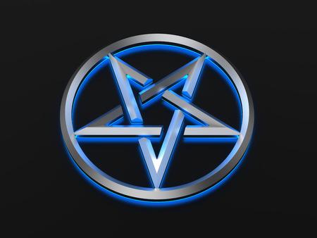 wicca: Pentagram - sign
