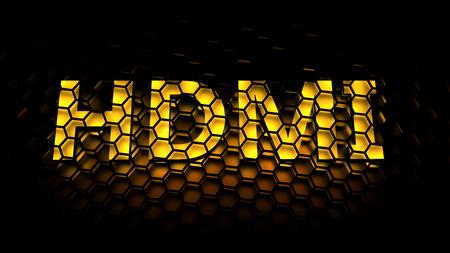 hdmi: HDMI High-Definition Multimedia Interface concept
