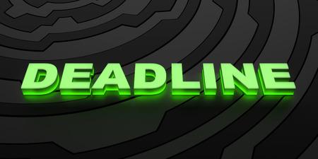 deadline: Deadline background Stock Photo