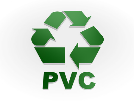 recycling symbols: Recycle PVC sign Recycling codes - Polyvinyl chloride