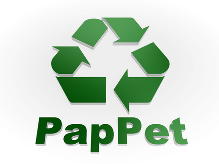reprocessing: Recycle PapPet sign Recycling codes - Paper and plastic