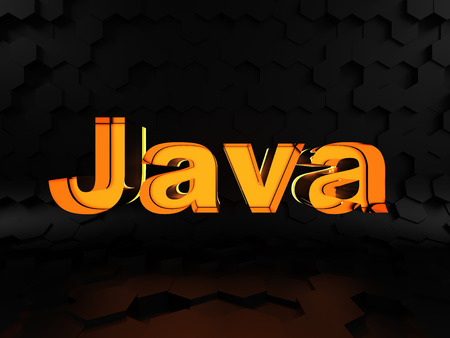 metadata: Java - computer programming language Stock Photo