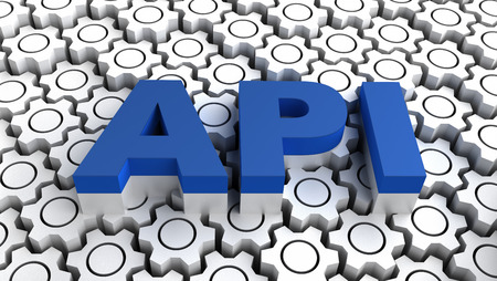 API Application programming interface Stock Photo
