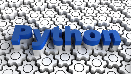 python: Python - programming language Stock Photo