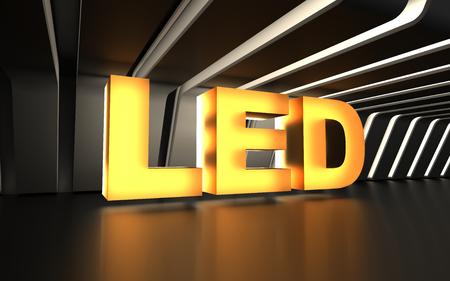 発光ダイオード (LED) の記号