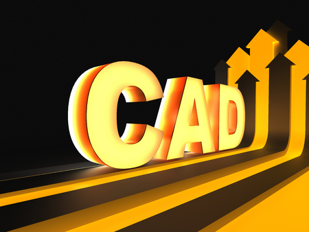 prototyping: CAD - Computer-aided design Stock Photo