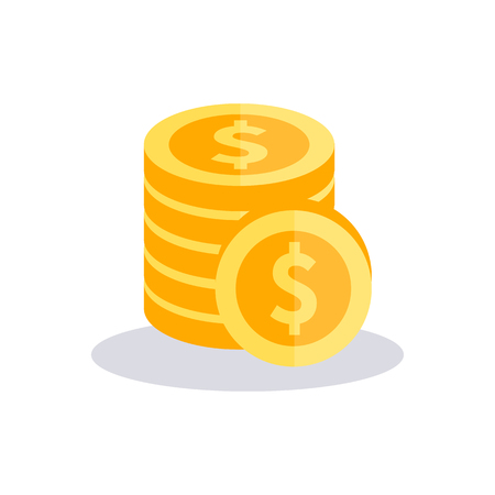 Money icon. Vector illustration.