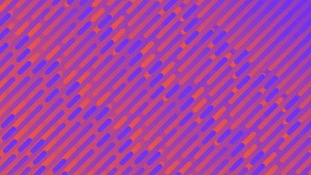 Colorful linear patterns. Blue and orange stripes, vector abstract background.