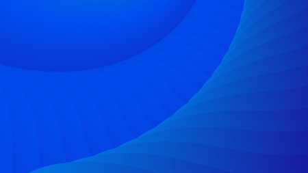 Blue color background. Abstract geometric pattern, vector illustration.