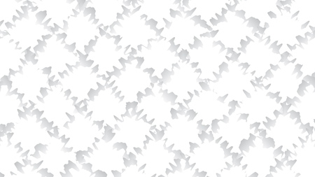 White and gray color background. Abstract geometric pattern, vector illustration.