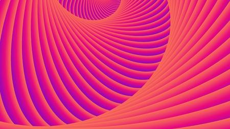 Illustration ondulée stylisée. Abstrait, modèle vectoriel.