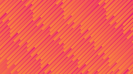Colorful linear patterns. Yellow, red and orange gradient stripes, vector abstract background. Stock Illustratie