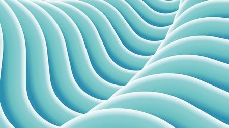 Stylized wavy Illustration. Abstract background, vector pattern. Stock Illustratie