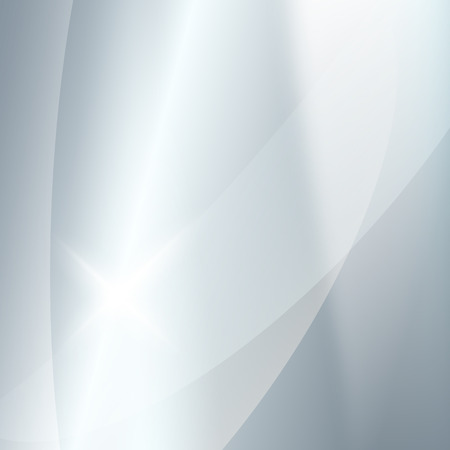background cover: Modern blurred grey silver background with bright glowing star. Gorgeous graphic image template.