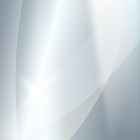 Moderne floue fond gris argent avec étoile brillante éclatante. Magnifique modèle de l'image graphique.