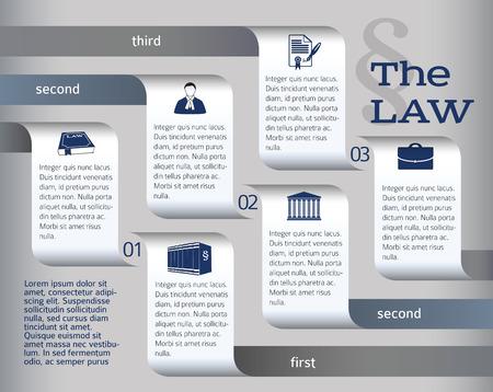 fermo: Classic informazioni stile di disegno grafico per Legal & studio legale.